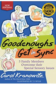 Illustrated book The GoodEnoughs Get in Sync