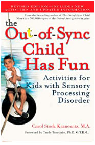 Illustrated book Out-of-Sync Child Has Fun
